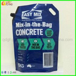 Тяжелые сумки в соответствии с пластиковой упаковки носик и ручки для упаковки конкретные