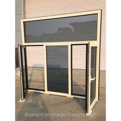Недорогой двойной панели из алюминия наклона и поворота алюминиевых окон Austalian стандарт