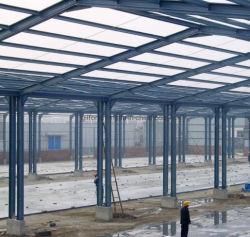 De geprefabriceerde Lichte Structuur van het Staal voor Pakhuis/Workshop/Fabriek met binnen Kraan
