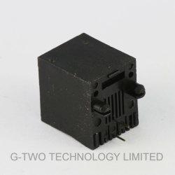 De professionele Verticale Rj11 Zwarte Schakelaar van de Fabrikant 6p2c