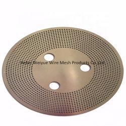 Foto-etsen met hoge precisie geperforeerde metalen plaat/geperforeerde roestvrijstalen encoder Voor het remmen op de auto