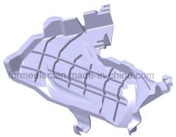 Colector de escape de automóveis de fabrico de moldes de plástico do molde do silencioso de escape