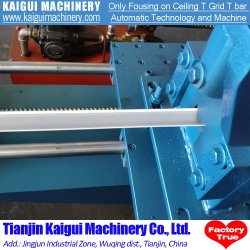 Linea di produzione del macchinario di griglia di angolo di parete del soffitto per la griglia del soffitto T