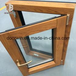 American Casement Style & Qualité européenne fenêtres en aluminium en bois massif, Tilt & tourner Windows pour les exigences en matière de réglementation de la construction