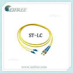 Оптоволоконные соединительные кабели LC ST двусторонней печати