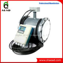 Les mesures sanitaires Split -Type liquide magnétique du débitmètre pour huile d'olive, eau potable