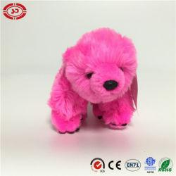 Rose foncé Cute Teddy moelleux de l'ours polaire doux jouet en peluche
