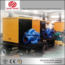 120квт дизельного двигателя водяного насоса для добычи полезных ископаемых отток 468м3/ч 5.4bars давления