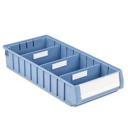 صندوق الرف البلاستيكي لمستودع قطع الغيار القوية والمتينة