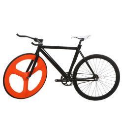 Roue de vélo de piste en aluminium de carbone