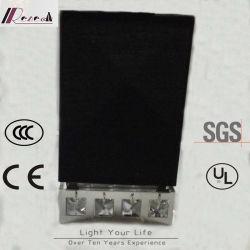 Высокое качество квадратных настенный светильник с кристально чистым детали