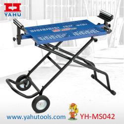 Sega da tavolo portatile mobile portatile rotante universale da tavolo con supporto sega circolare Supporto (YH-MS042)