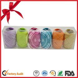Hot Sale 5mm*20m papier rouleau de ruban de raphia pour la décoration