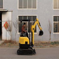 macchinario di costruzione idraulico dell'escavatore del piccolo cingolo 1.6ton