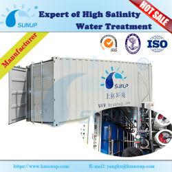 Контейнерных система обратного осмоса для отдыха водоснабжения