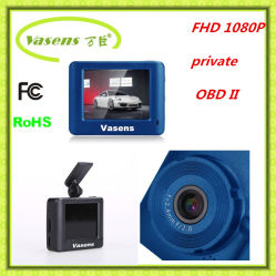 H. 264 видео- кулачок шпионки автомобиля DVR формы FHD