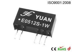 3-24VCC entrée fixe, non réglementée double module de puissance de sortie de tension E1205S/D-2W