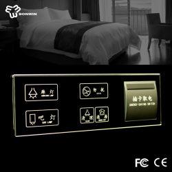 Interrupteur des feux de contrôle à distance sans fil et de la douille avec indication de rétroéclairage par LED