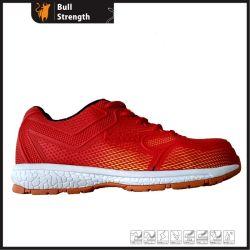 Light Sport homens/mulheres Calçado de segurança funcionando equipamento para o calçado de segurança com certificado CE com boa qualidade com EVA/sola de borracha (SN5418)