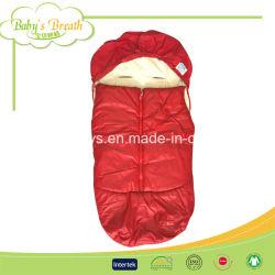 Suave transpirable de cochecito de bebé sacos de dormir con la impresión
