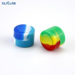 2 мл мини Неприлипающий пластиковый контейнер силиконовый Stash воска Jar