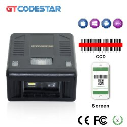 Mini Auto-Sensing /Image CCD Bureau Portable 5mil Module de scanner de code à barres X-7200