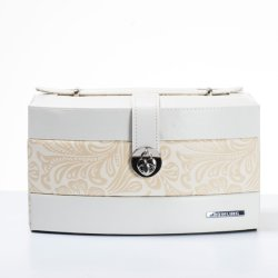 Rowling marque l'emballage de gros de cuir synthétique et du papier épais Conseil Boîte à bijoux