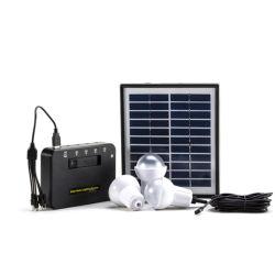 Le petit ordinateur mini LED rechargeable Home 5W du système d'énergie solaire