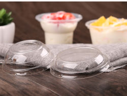 Оптовая торговля pricedisposable прозрачный пластиковый мороженое(PP)