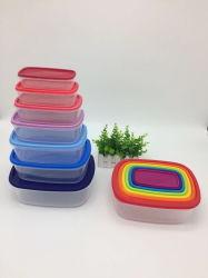 7 Размеры прямоугольника Rainbow хранения продуктов питания,