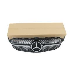 차량 자동 프론트 그릴 프론트 그릴 메르세데스 벤츠용 알루미늄 그릴 C급 W204 Sky Star Net C200 C300 C260