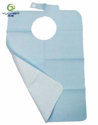 Bavoirs et dentaire adulte Bavoirs 2ply + 1 plis du papier PE les consommables médicaux Produits