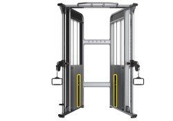 Gymnastik-Eignung-Geräten-Sport-Geräten-justierbare Verdoppelungriemenscheibe (C121)