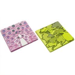 광고용 사각 모양 PVC 코스터 (YB-n-018)