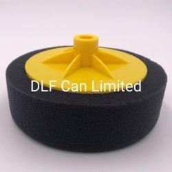6 Zoll-Fertigstellungs-Polsterauflagen-Schwarzes Colorwith Zurückziehenplatte M14