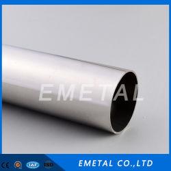 ERW Inox SUS 201, 304 Roestvrij staal Gelaste die Pijp/Hl van het Satijn van de Buis van het Lassen voor Decoratie wordt opgepoetst