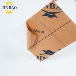 Jinbao laser de grande taille de gros 1000*2000mm 1220*1830mm verre acrylique transparente pour les meubles personnalisés