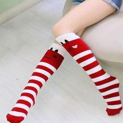 Crianças Alto do joelho meias com rendas barato Stuff Ruffle Meias Kid Princess Meninas Bebê Aquecedores de perna ao algodão