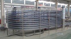 Pão comerciais de grande porte do Transportador de refrigeração em espiral para linha de cozedura