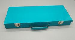 Embalaje personalizado o un caso de la caja de metal con conjunto de herramientas