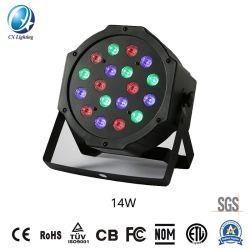 18 RGB LED Stadiums-Lampe Partei-Stab-Disco-der Verein 14W 100-240V in des Ballsaal-KTV
