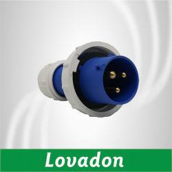 Lth 0132 0232 أزرق IP67 16A 32A مقاومة للماء ذكر أنثى المقبس والمأخذ الصناعيين