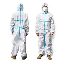 prix d'usine médicaux chirurgicaux Coverall globalement ce PP et PE robe d'isolement des vêtements de protection jetables costume de protection