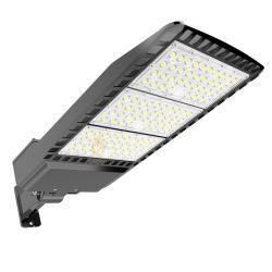 150lm/W IP65 옥외 조정가능한 200W 정원 거리 도로 주차장 구두 상자 점화 LED
