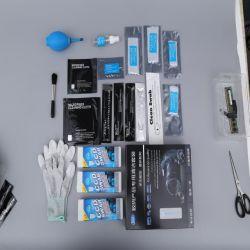 Professionista 9 in 1 kit di pulizia della macchina fotografica per la pulitura di DSLR Aps-c