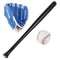 OEM 25 pouces bâtons de baseball en bois de gants et de balle réglé pour les jeunes adultes