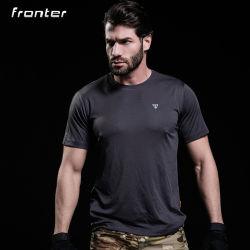 Het Overhemd van het Golf van de Sport van de Manier van het Overhemd van de Polyester van Mens van de T-shirt van de douane
