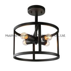 Jlc-C013 de industriële semi-Vloed zet de Lichte Lamp van het Plafond van de Trommel van het Ijzer op