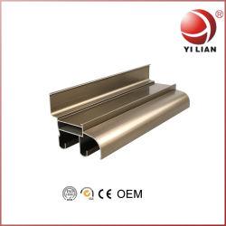 Profiel van het Aluminium van het Aluminium van het Bouwmateriaal het Uitdrijving Geanodiseerde die voor Venster in China wordt gemaakt