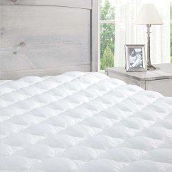 Colchón de espuma de memoria infundida con colchón de espuma de la microfibra Tapa